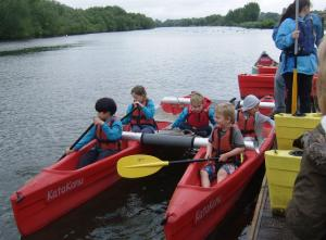 52nd Reading Beavers - Mucking about on the River