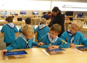 Woosehill Beavers Design Apple Computers of the Future