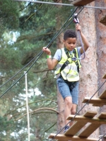 1st Woosehill Beavers Scale New Heights At Go Ape